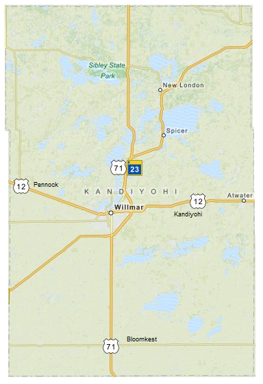 Willmar and Kandiyohi County